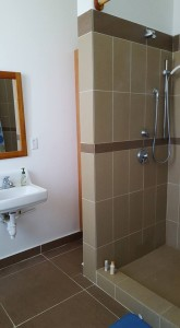 Bathroom with HOT WATER.