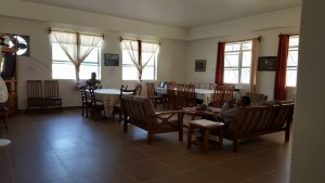 Common room and dining area