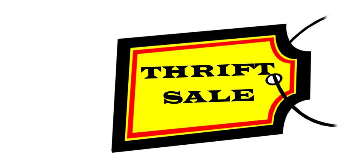 Thrift Sale June 22